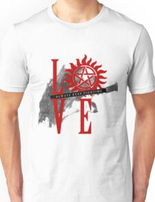Always Keep Fighting - Supernatural LOVE Unisex T-Shirt