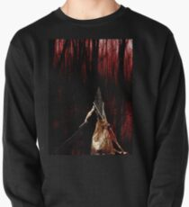 Pyramid Head wish you a happy Halloween Pullover