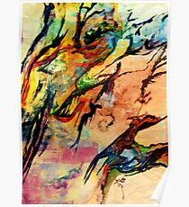 Water Color abstract S series  Poster