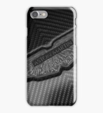 Aston Martin Forged Carbon Fibre Badge iPhone Case/Skin