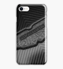 Aston Martin Forged Carbon Fibre Badge iPhone Case/Skin