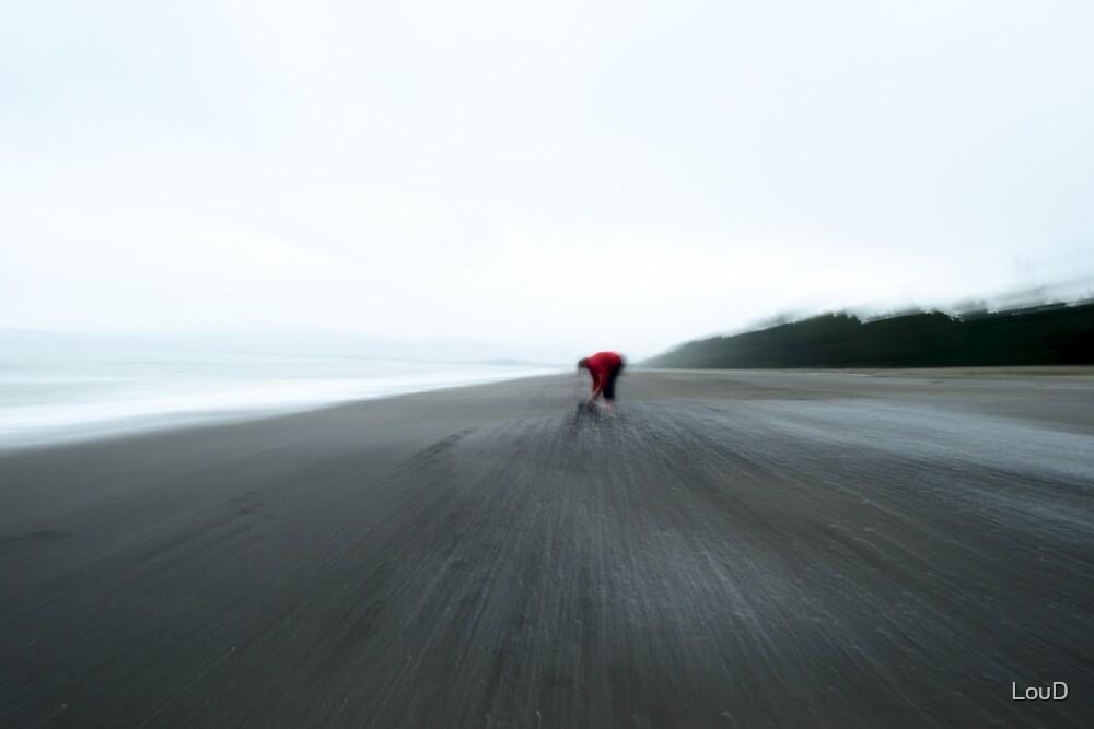 Beach combing #02 by LouD