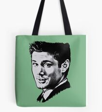 Dean Winchester in black. Tote Bag
