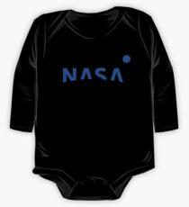 NASA New Logo 2016 (blue) One Piece - Long Sleeve