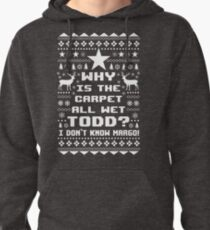 Ugly Christmas Vacation Sweater - Todd and Margo Pullover Hoodie