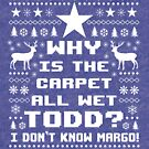 Ugly Christmas Vacation Sweater - Todd and Margo by Janelle Wourms