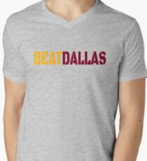 Beat Dallas A Washington DC / Maryland and Virginia Saying Men's V-Neck T-Shirt