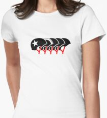 Roller Derby helmets (Black Design) T-Shirt