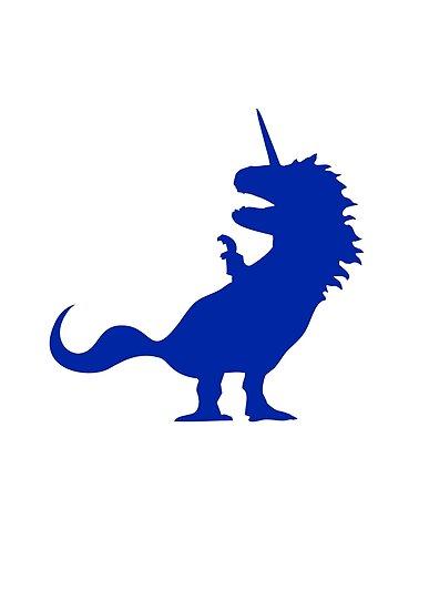 Unicorn T-Rex by jezkemp