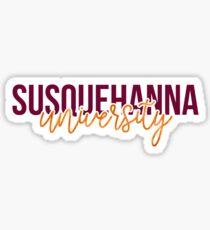 Susquehanna University - Style 13 Sticker