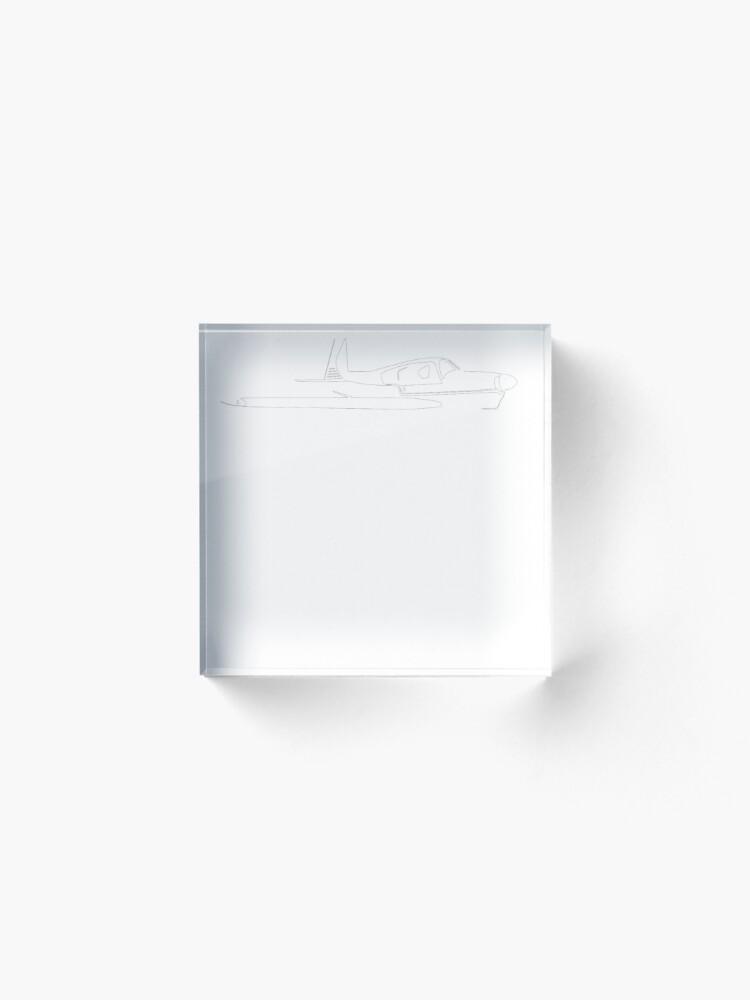 Alternate view of Mooney C Model Acrylic Block