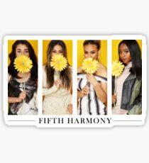 YELLOW FIFTH HARMONY Sticker