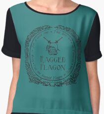 Visit the Ragged Flagon! Chiffon Top