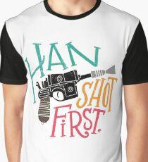 Star Wars - Han Shot First Graphic T-Shirt
