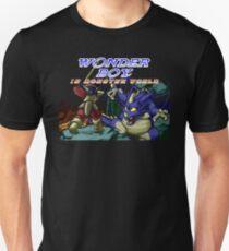 Wonder Boy In Monster World (Genesis Title Screen) Unisex T-Shirt