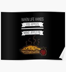 Apples Are Life Poster