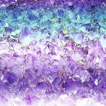 Corte en bruto de cristal de Alejandrita de peggieprints