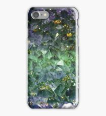 Emerald rough cut gem iPhone Case/Skin