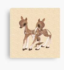 Cute Little Deer Canvas Print