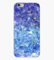 Vinilo o funda para iPhone Zafiro piedras preciosas talladas en bruto