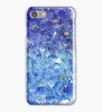 Sapphire rough cut gemstone iPhone Case/Skin