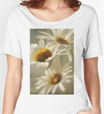 I Picked Some Daisies Along The Way By CJ Anderson Women's Relaxed Fit T-Shirt