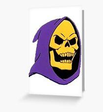 Skeletor Greeting Card