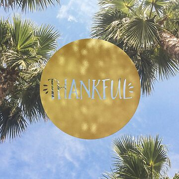 Thankful tropical by peggieprints