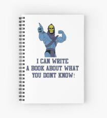 Skeletor Spiral Notebook