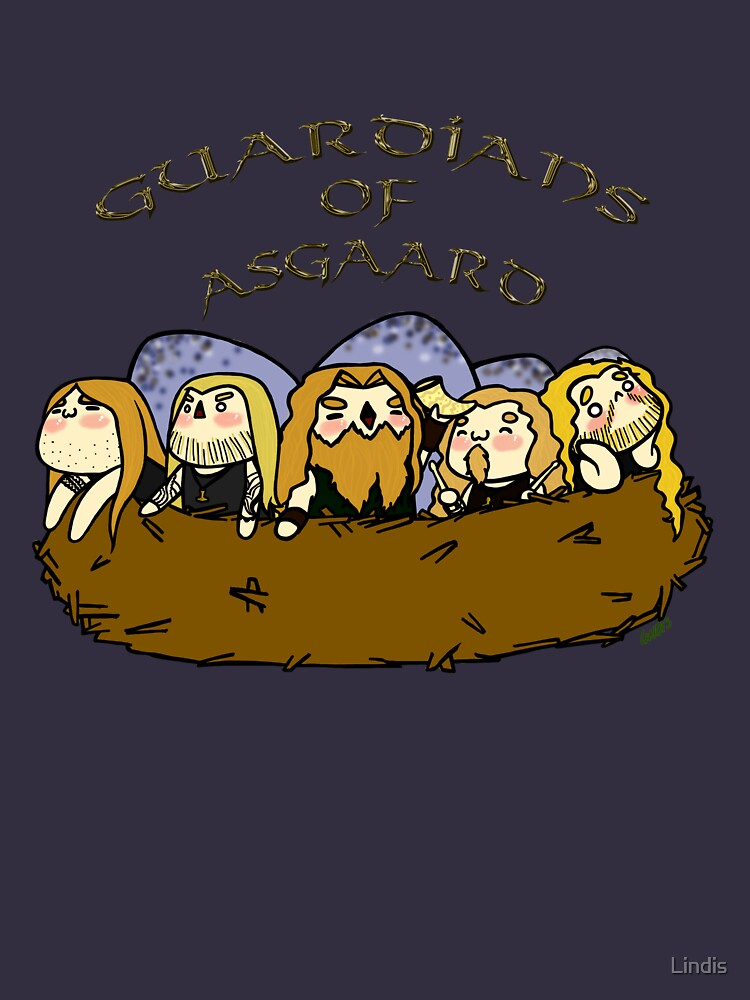 Chibi Amon Amarth: Guardians of Asgaard by Lindis