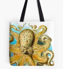 Cool Octopus - Sea Ocean or Navy Style Cartoon Drawing Tote Bag