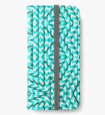 aqua pix iPhone Wallet/Case/Skin