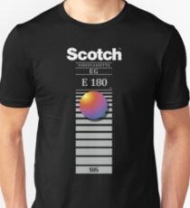 """Re-record, not fade away"" - Scotch VHS Unisex T-Shirt"