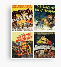Sci-fi Movie Poster Art Collection #8 Canvas Print