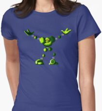 Vectorman (Genesis Sprite) Womens Fitted T-Shirt