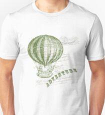 Vintage Hot Air Balloon Travel Unisex T-Shirt
