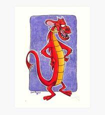 Mushu Art Print