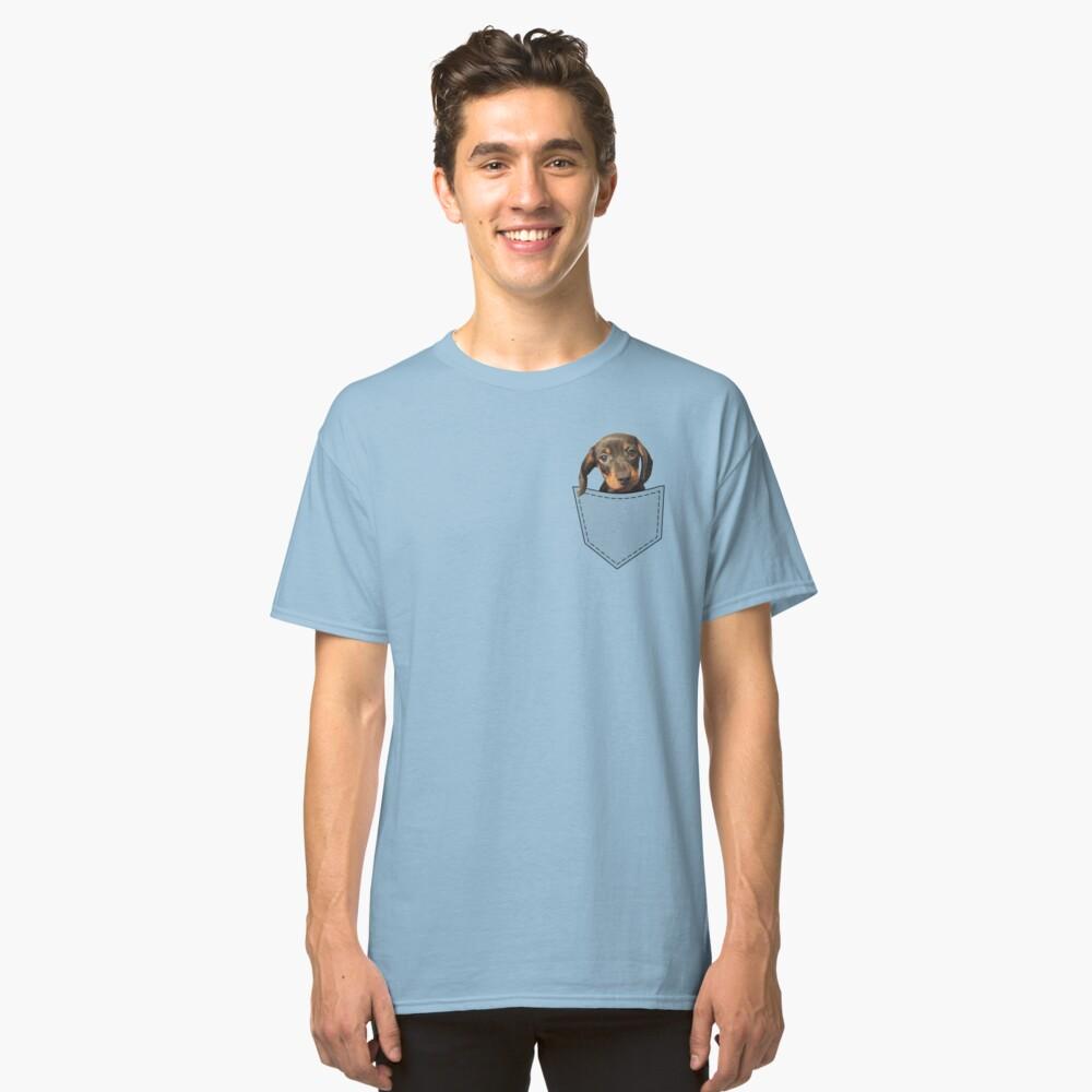 Taschen-Hundedachshund Classic T-Shirt