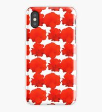 Natural Flowers Series - Red Flowers iPhone Case/Skin