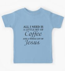 COFFEE JESUS Kids Clothes