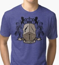 Fillion Character Crest Tri-blend T-Shirt