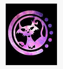 Monstercat EDM District Galaxy Logo Photographic Print