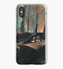 The Last Duck Hunt - Infrared Photo iPhone Case/Skin