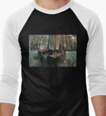 The Last Duck Hunt - Infrared Photo Men's Baseball ¾ T-Shirt