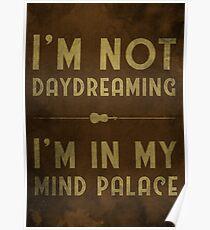 Sherlock, Mind Palace (Colour) Poster