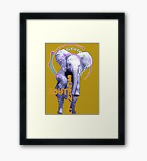 Scenic Route: State of Mind Framed Print