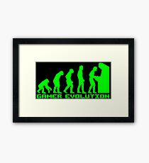 Gamer Evolution Framed Print