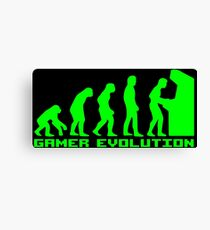 Gamer Evolution Canvas Print