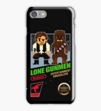 Lone Gunmen iPhone Case/Skin