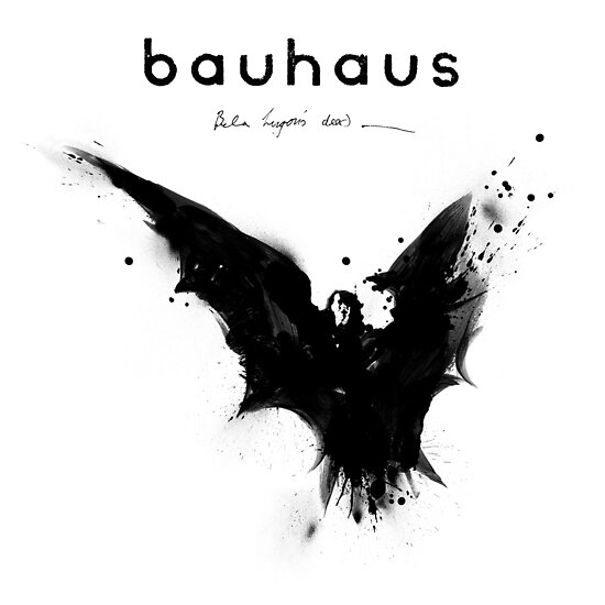 Quot Bela Lugosi S Dead Bauhaus Quot Poster By Jamieharrington